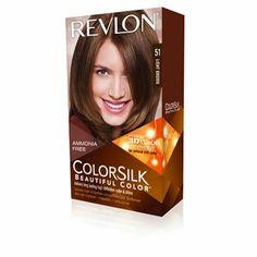 Revlon Color Silk - ofera parului o culoare senzationala, cu un aspect natural, de la radacina pana la varf.  Aceasta este o formula conceputa pentru a penetra fiecare fir de par fara a deteriora, deoarece nu contine amoniac.  Parul va arata mai sanatos, matasos si stralucitor decat cum arata inainte de vopsire. Revlon Colorsilk, Mai, Brown, Brown Colors