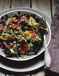 Brussels Sprout and Cranberry Salad