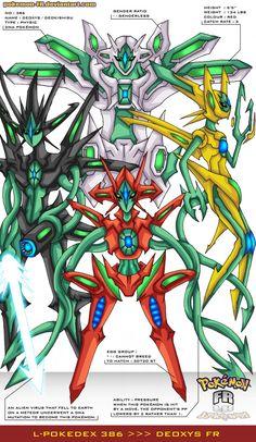 This is FR (Fierce Remake) Pokemons folder for all Legendaries. Pokemon Pins, Pokemon Fan Art, All Pokemon, Cute Pokemon, Pokemon Manga, Pokemon Fusion, Pokemon Deoxys, Pokemon Human Form, Deviantart Pokemon