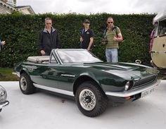 A Royal Family Aston Martin go-cart