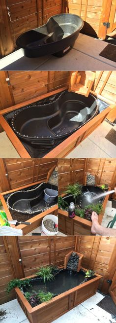 How to Turn Old Bathtub into a Natural-Looking Pond