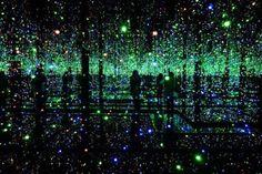 Yayoi Kusama: Fireflies on the Water