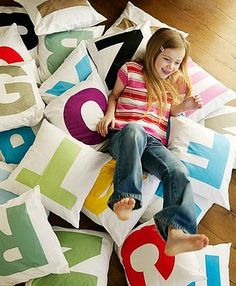 Alphabet Pillows