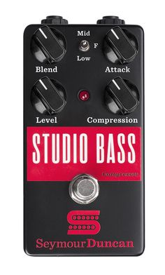 Studio Bass Compressor by Seymour Duncan Bass Pedals, Guitar Pedals, Guitar Amp, Acoustic Guitar, Heavy Metal Guitar, Seymour Duncan, Bass Amps, Guitar Effects Pedals, Pedalboard