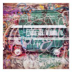 Van Vintage Grafitti Deep Ellum Dallas Texas 001SRA