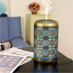 Coccinelle Forme Collier Parfum Fragrance Huile Essentielle Aromathérapie Diffuseur