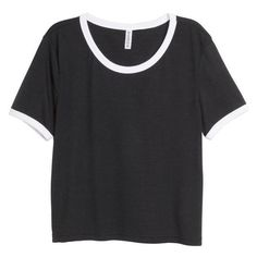 H&M Crop top ❤ liked on Polyvore featuring tops, sleeve top, long-sleeve crop tops, jersey top, sleeved jerseys and jersey crop top