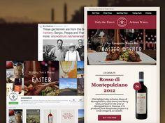 Vino Nostrum - social media, email marketing
