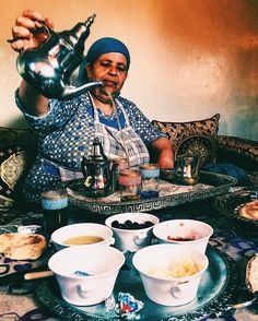 Moroccan hospitality at it best.