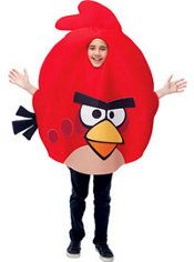 Boys Red Angry Birds Costume
