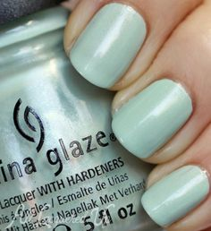 China Glaze Keep Calm, Paint On #nailpolish swatch