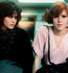 "Allison and Claire, The Breakfast Club... I was the girl sitting next to that girl ""sayin bitch please"""