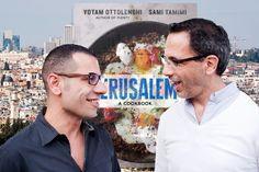 Jerusalem, livro de receitas de Yotam Ottolenghi chega ao Brasil - http://superchefs.com.br/noticias-de-gastronomia/jerusalem-livro-de-yotam-ottolenghi/ - #LivroJerusalem, #LivrosDeCulinária, #SamiTamimi, #Superchefs, #YotamOttolenghi