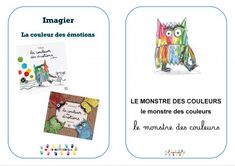 La couleur des émotions : imagiers (3 écritures, 2 écritures, 1 écriture) – MC en maternelle