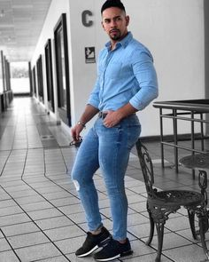 Men Sillicon Pads Butt Lifter up myshoponline com is part of Mens fashion edgy - Moda Do Momento, Tight Jeans Men, Mode Man, Herren Outfit, Tights Outfit, Super Skinny Jeans, Sexy Men, Men Casual, Menswear