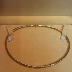 Veronese 16 inch chocker 18K gold over sterling silver.  In like new condition. Lobster clasp Veronese Jewelry