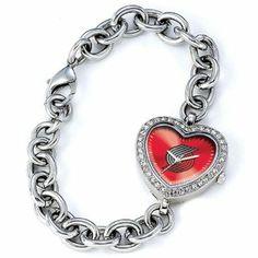 Ladies NBA Portland Trail Blazers Heart Watch Jewelry Adviser Nba Watches. $60.00