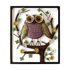 Owl Metal Art #animal #kingdom