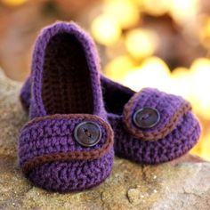 Toddler Crochet Pattern for The Valerie Slipper Toddler - Childrens Sizes 4 - 9 - ALL Six Sizes Included - Pattern number 206