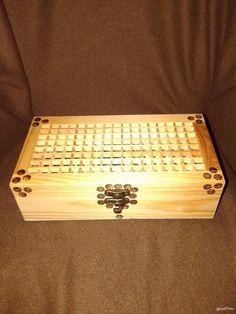 Caixa de bombons mdf e pirografia .