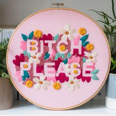 25cm/9.8 inches hoop #embroidery #hybelstitches
