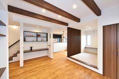 Wood Ceilings, Ceiling Beams, Solid Wood, Divider, Room, Furniture, Home Decor, Wood Beamed Ceilings, Bedroom