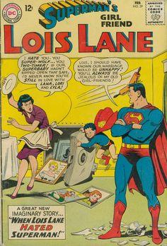 Superman Man of Steel Lois Lane Romance DC Comics Covers Superheroes Superhero