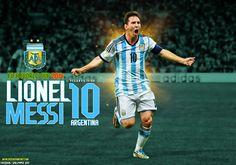 Lionel Messi Wallpaper 2014 World Cup - wallpaper.