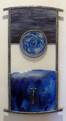 Wall Jewelry Image Glass, Copper Art, Sticks And Stones, Stained Glass, Planets, Glass Art, Shells, Projects To Try, Tapestry