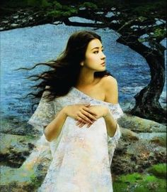 Xie Chuyu painting