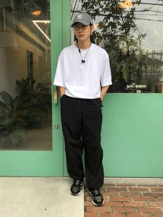 Asian Boys, Asian Men, Asian Fashion, New Fashion, Asian Street Style, Fasion, Boy Outfits, Street Wear, Normcore