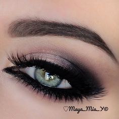 .@maya_mia_y | Closeup ✨Arabic Makeup ✨  More pix and tutorial coming up.. Products used by ...