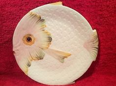 Vintage-Italian-Majolica-Sun-Fish-Plate-c-1953-im64