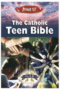 The Catholic Teen Bible (Prove It!) The Catholic Teen Bible features other youth-friendly material including articles on the Ten Commandments, Fruits of the Holy Spirit, the Cardinal and Theological Virtues and much more. The Catholic Teen Bible is a great resource teens in making Scriptures more relevant to their Catholic faith.  Check out our bibles here: https://www.veritasbookstore.ca/collections/bibles/products/the-catholic-teen-bible-prove-it