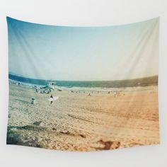 Beach Tapestry California Tapestry Pastel Tapestry Ocean Tapestry Surf Wall…