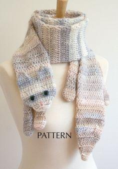 calico cat scarf