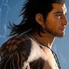 Final Fantasy Xv, Final Fantasy Characters, Fantasy Series, Final Fantasy 15 Gladiolus, Black Butler Kuroshitsuji, Guy Drawing, Gay Art, My Heart Is Breaking, Best Games