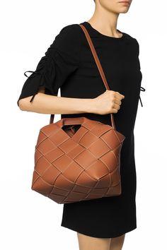 Loewe Bag, Plaits, Put On, Calf Leather, Bucket Bag, Calves, Fine Jewelry, Take That, Fashion