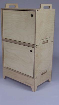 Frontier Design modular birch plywood storage designed in Sweden diy beginner diy pallet diy projects diy rustic diy woodworking