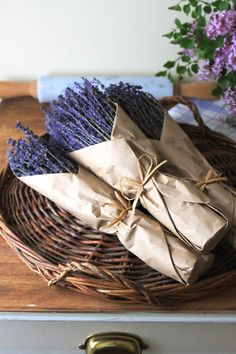 Jenny Steffens Hobick: Mother's Day Collection | Lavender, Baskets, Candles & Trays