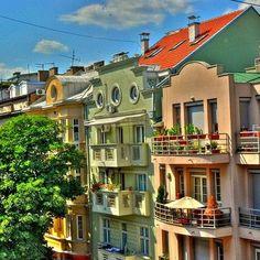 Streetview of Belgrade, Serbia