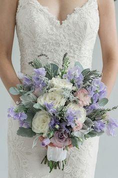 Lavender, blush, and white bridal bouquet | Star Noir Studio | see more on: http://burnettsboards.com/2015/05/lavender-eucalyptus-affair-senses/
