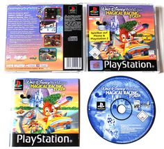 Playstation 1 Walt Disney World Quest Magical Racing Tour