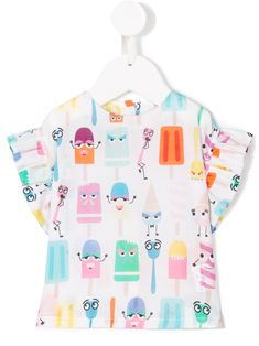 Fendi Kids popsicle print dress – Harshita Suman – Join in the world of pin Kids Summer Dresses, Summer Kids, Junior Outfits, Kids Outfits, Funny Kids Shirts, Girl Shirts, Junior Clothing Stores, Cool Kids Clothes, Kids Clothing
