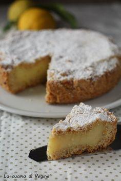 Sbriciolata al limone un dolce profumato e buonissimo croccante fuori e morbida dentro, cremosa e profumata una vera delizia