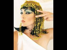 """Fun tutorial on how to do makeup like Cleopatra from Kandee, a make up artist for """"How Do I Look"""" TV show."""