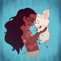 Moana and Pua by MynaJas3142 on DeviantArt