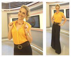Look da Ana Hickmann    por Tatiana Gomes | Gloss Laranja       - http://modatrade.com.br/look-da-ana-hickmann