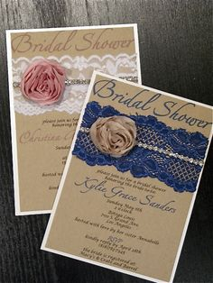 Bridal Shower Invitation  shabby chic by peachykeenevents on Etsy, $4.00