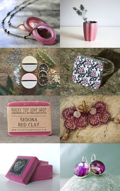Raspberry by Andrea Dawn on Etsy--Pinned with TreasuryPin.com Soap Shop, You Are Awesome, Pretty In Pink, Dawn, Raspberry, Lavender, Clay, Red, You Are Wonderful